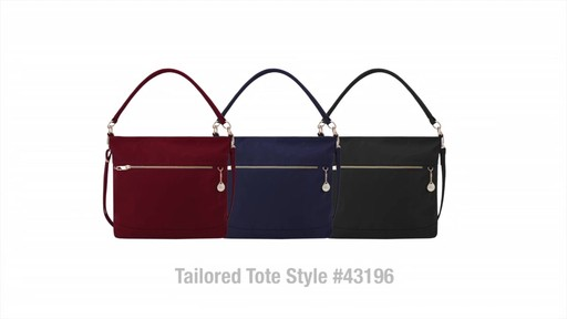 Travelon Anti-Theft Tailored Tote - image 10 from the video
