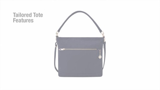 Travelon Anti-Theft Tailored Tote - image 3 from the video