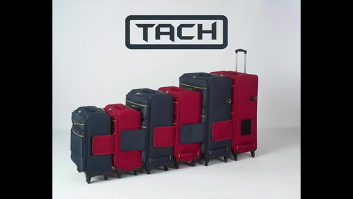 TACH Luggage 3 Piece Connecting Luggage - image 1 from the video