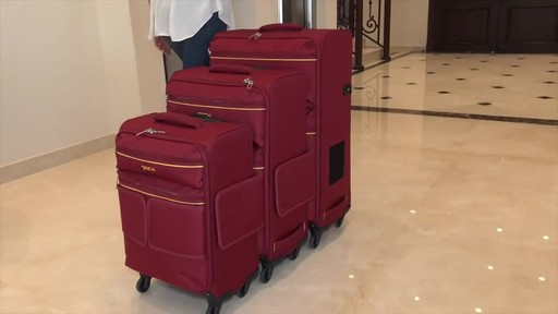 TACH Luggage 3 Piece Connecting Luggage - image 4 from the video