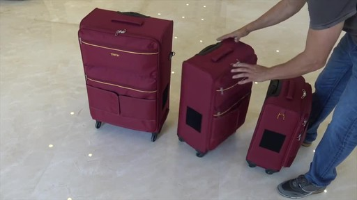 TACH Luggage 3 Piece Connecting Luggage - image 6 from the video