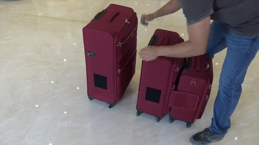 TACH Luggage 3 Piece Connecting Luggage - image 7 from the video