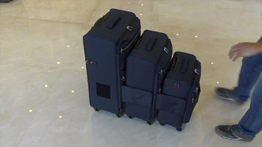 TACH Luggage 3 Piece Connecting Luggage - image 8 from the video