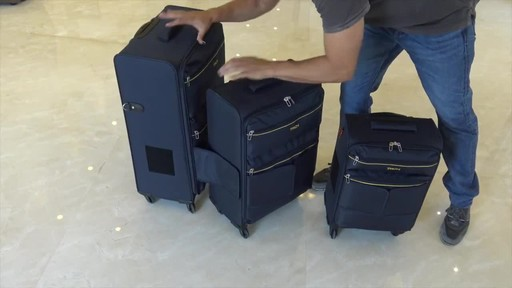 TACH Luggage 3 Piece Connecting Luggage - image 9 from the video