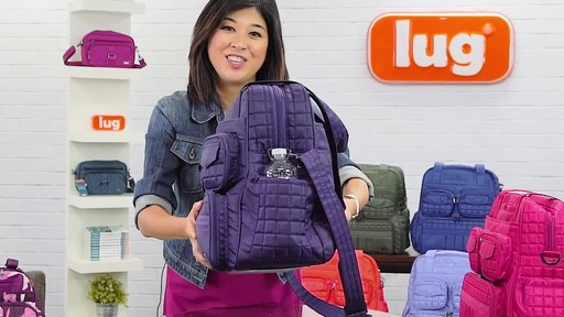 Lug Puddle Jumper Overnight/Gym Bag - image 10 from the video