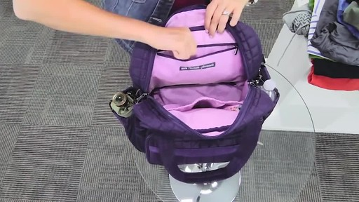 Lug Puddle Jumper Overnight/Gym Bag - image 8 from the video