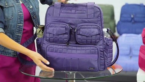 Lug Puddle Jumper Overnight/Gym Bag - image 9 from the video
