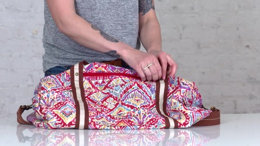 Sakroots Artist Circle XL Soft Duffle - on eBags.com - image 10 from the video
