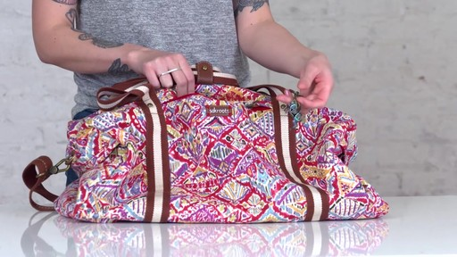 Sakroots Artist Circle XL Soft Duffle - on eBags.com - image 2 from the video