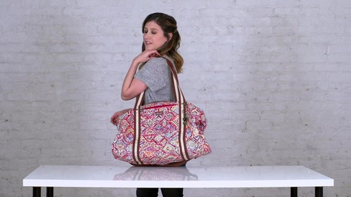 Sakroots Artist Circle XL Soft Duffle - on eBags.com - image 3 from the video
