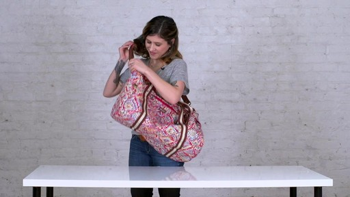 Sakroots Artist Circle XL Soft Duffle - on eBags.com - image 4 from the video