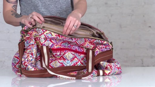 Sakroots Artist Circle XL Soft Duffle - on eBags.com - image 6 from the video