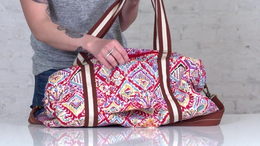 Sakroots Artist Circle XL Soft Duffle - on eBags.com - image 9 from the video