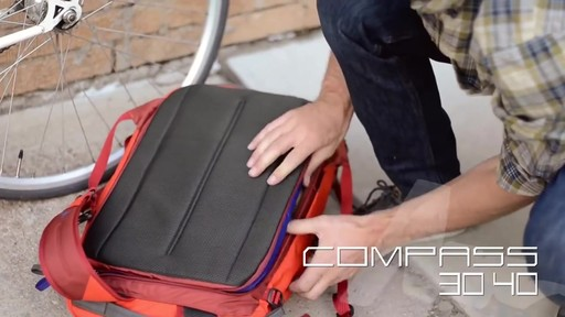 Gregory Sketch & Compass Backpacks - image 3 from the video