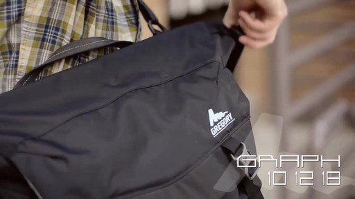 Gregory Sketch & Compass Backpacks - image 9 from the video