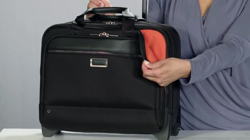 Briggs & Riley @work Medium 2 Wheel Expandable Brief - image 4 from the video