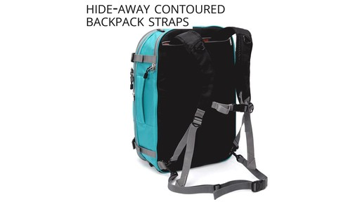Why Travel with the eBags TLS Mother Lode Weekender Convertible - image 8 from the video