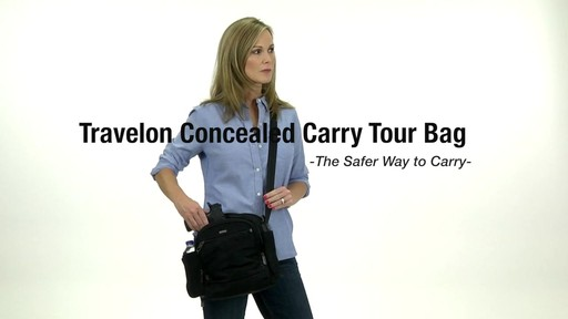 Travelon Anti-Theft Concealed Carry Tour Bag - Shop eBags.com - image 1 from the video