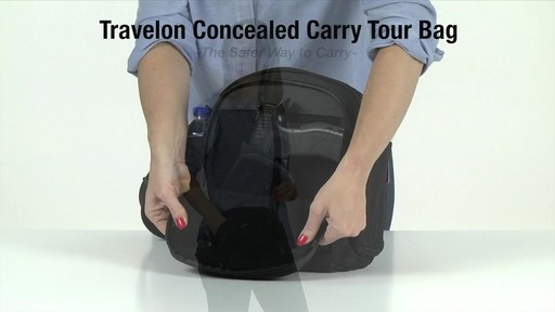 Travelon Anti-Theft Concealed Carry Tour Bag - Shop eBags.com - image 10 from the video