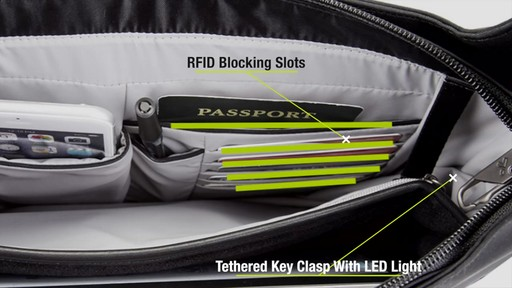 Travelon Anti-Theft Concealed Carry Tour Bag - Shop eBags.com - image 9 from the video