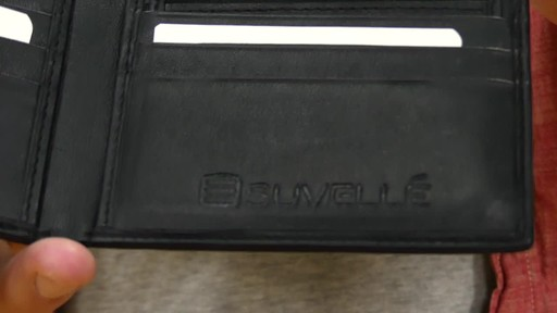 Suvelle Mens Slim Bifold Wallet - image 4 from the video