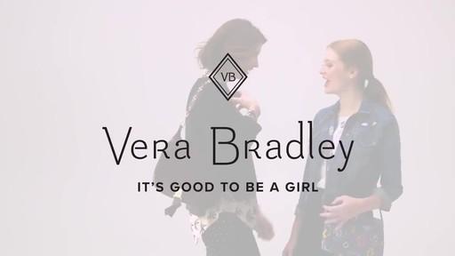 Vera Bradley Carson Shoulder Bag - image 10 from the video
