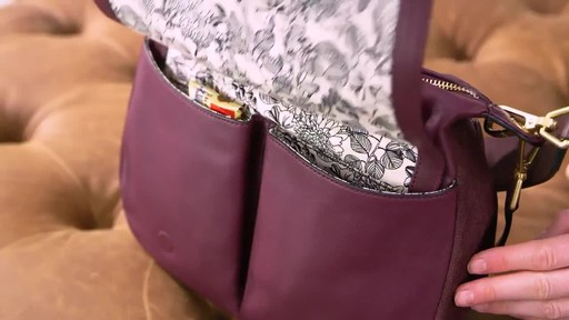 Vera Bradley Carson Shoulder Bag - image 3 from the video