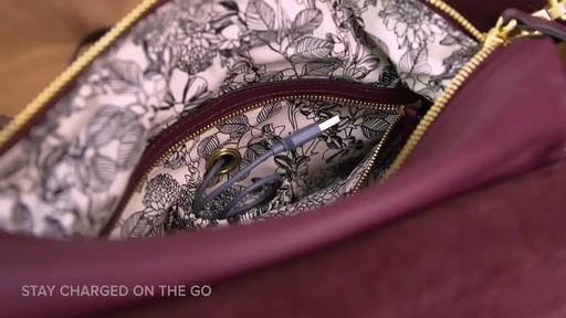 Vera Bradley Carson Shoulder Bag - image 4 from the video