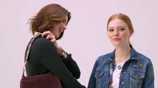 Vera Bradley Carson Shoulder Bag - image 5 from the video