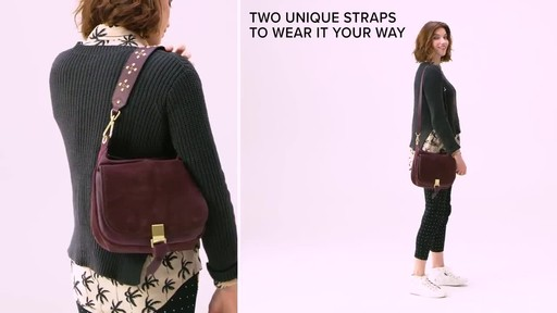 Vera Bradley Carson Shoulder Bag - image 7 from the video