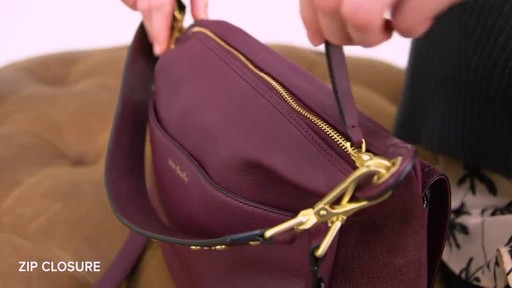 Vera Bradley Carson Shoulder Bag - image 9 from the video
