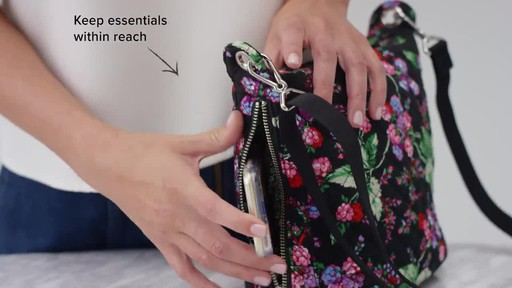 Vera Bradley Carson Mini Hobo Crossbody - image 3 from the video