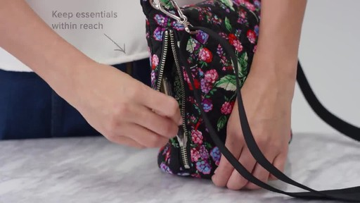 Vera Bradley Carson Mini Hobo Crossbody - image 4 from the video