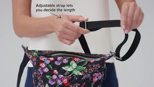 Vera Bradley Carson Mini Hobo Crossbody - image 7 from the video