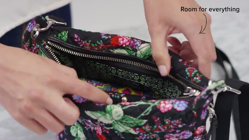 Vera Bradley Carson Mini Hobo Crossbody - image 9 from the video