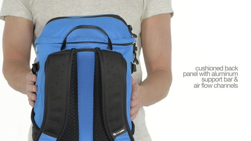 Pacsafe Venturesafe X30 Anti-Theft Adventure Backpack - on eBags.com - image 1 from the video