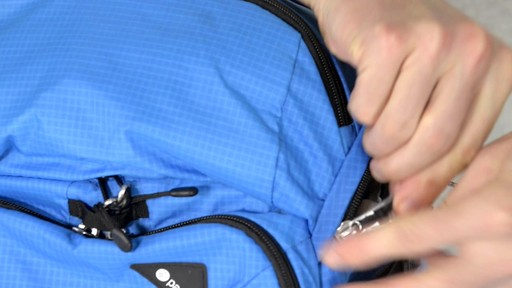 Pacsafe Venturesafe X30 Anti-Theft Adventure Backpack - on eBags.com - image 10 from the video