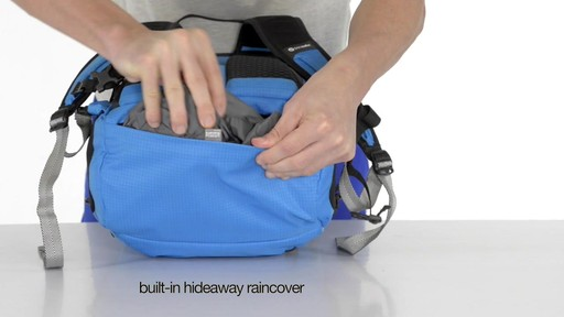 Pacsafe Venturesafe X30 Anti-Theft Adventure Backpack - on eBags.com - image 2 from the video