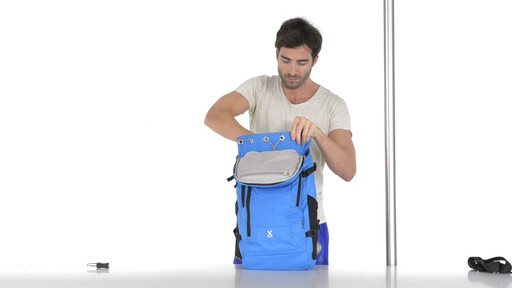 Pacsafe Venturesafe X30 Anti-Theft Adventure Backpack - on eBags.com - image 9 from the video