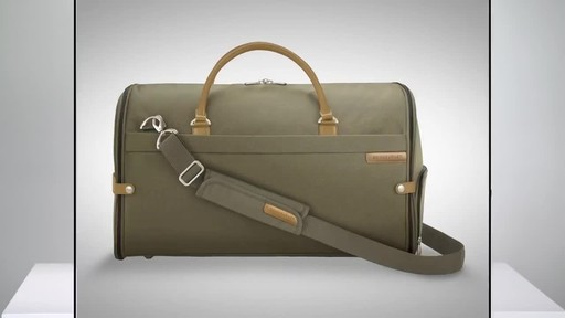 Briggs & Riley Baseline Suiter Duffle - image 1 from the video