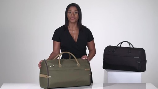 Briggs & Riley Baseline Suiter Duffle - image 10 from the video