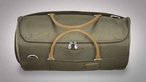Briggs & Riley Baseline Suiter Duffle - image 3 from the video