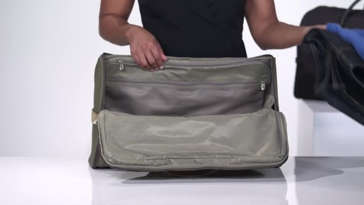 Briggs & Riley Baseline Suiter Duffle - image 9 from the video