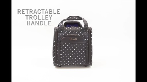 Kenneth Cole Reaction Dot Matrix Underseater / True Carry-On - image 1 from the video