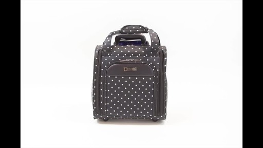 Kenneth Cole Reaction Dot Matrix Underseater / True Carry-On - image 4 from the video
