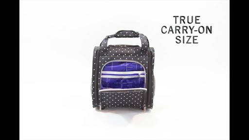Kenneth Cole Reaction Dot Matrix Underseater / True Carry-On - image 5 from the video