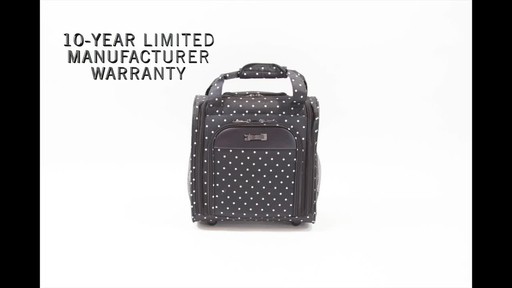 Kenneth Cole Reaction Dot Matrix Underseater / True Carry-On - image 6 from the video
