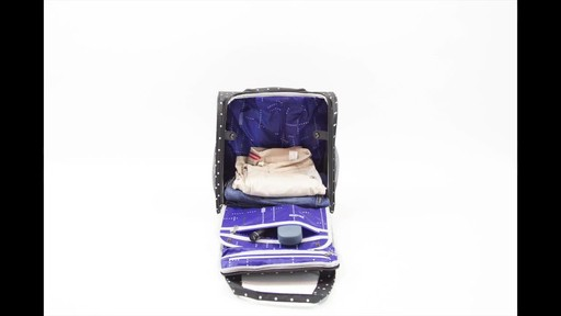 Kenneth Cole Reaction Dot Matrix Underseater / True Carry-On - image 9 from the video