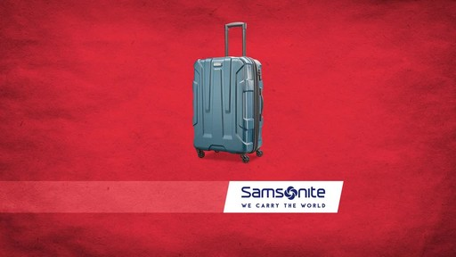 Samsonite Centric Expandable Hardside Spinner Luggage Collection - image 10 from the video