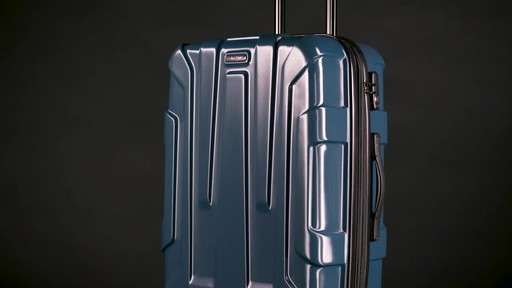 Samsonite Centric Expandable Hardside Spinner Luggage Collection - image 3 from the video
